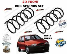 FOR FORD FIESTA MARK 4 + COURIER  VAN 1995-2002 NEW 2X FRONT COIL SPRINGS SET