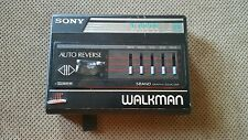 (AS-IS) Sony Walkman WM-F80 Cassette Player Tv FM AM Radio Vintage