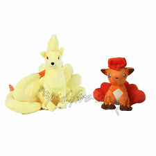 2pcs Pokemon Ninetales & Vulpix Plush Doll Figure Toy Great Gift