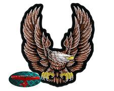 FEDERAL UPWING EAGLE Biker Patch groß Aufnäher Aufbügler Backpatch Harley USA