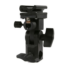 Universal Swivel Hot Shoe Flash Holder Type B for Light Stand with Umbrella Lock