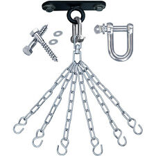 RDX Punch Bag Ceiling Hook with Chains,Swivel,Steel Wall Bracket Boxing Mount 6S