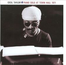 Piano Solo at Town Hall 1971 by Cecil Taylor (CD, May-2009, Free Factory)