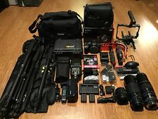 NEWSony Alpha DSLR A7RII A7R II 42.4MP 4K Full Frame,Digital SLR CameraW/CAGE&AF