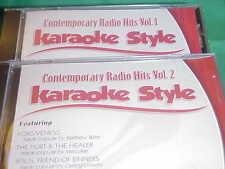 Contemporary Radio #1 & 2 ~ Christian Daywind Karaoke Style ~~ Courageous ~ CD+G