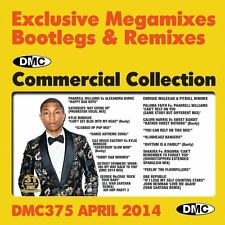 DMC Commercial Collection 375 Mixes, Megamixes & Two Tracker DJ Double Music CD