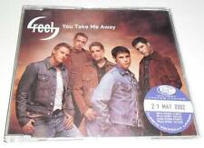 REEL - YOU TAKE ME AWAY - 2002 UK PROMO CD SINGLE