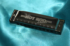 Fender Hot Rod Deluxe Harmonica, Key of A, with Carrying Case, MPN 0990708003