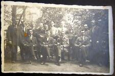 GERMANY~ 1920's BERLIN ? GUITAR AND MANDOLIN PLAYERS ~ MUSIC GROUP ~ RPPC