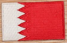 BAHRAIN Country Flag Embroidered PATCH Badge