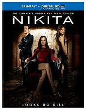 Nikita Complete Fourth (Final) Season 4 Four ~ NEW BLU-RAY SET & DIGITAL COPY