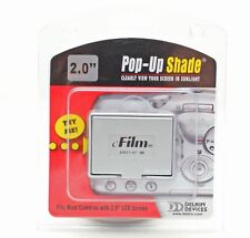 "Delkin E-Film Du2.0""-m Pop-Up Screen Shade+camera/Watch LCD Screen 2"" Protector"