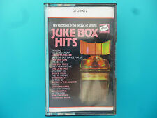 "VARIOUS ARTISTS  ""JUKE BOX HITS - NEW RECORDINGS/ORIGINAL ARTISTS""  CASSETTE"