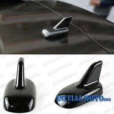Black Car Truck Dummy Top Roof Trunk Shark Fin Antenna Aerial Air Decal Sticker