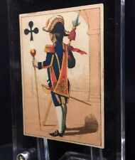 1860 Max Frommann Transformation Jeanne Hachette Playing Cards Court Single +COA