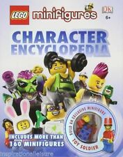 Lego Minifigure Character Encyclopedia Book NEW FOC Exclusive Toy Soldier Minifg