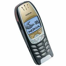 RECON REFURBISHED RECONDITIONED NOKIA 6310i UNLOCKED SIM FREE BLACK + GOLD