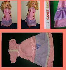 Vestito rosa originale della Candy Candy 'DOLL POUPE' della POLISTIL vintage