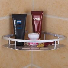 Aluminum Shower Wall Mount Corner Shelf Holder Bathroom Storage Caddy Organizer