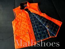 Polo Ralph Lauren Quilted Hunting Vest $225NWT sportsman tartan vtg p usa duck L