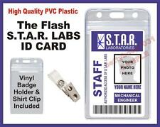 The Flash (STAR LABS) Employee ID Badge / Card Prop - Halloween - S.T.A.R. Labs