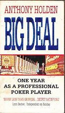 BIG DEAL ANTHONY HOLDEN ONE YEAR AS A PROFESSIONAL POKER PLAYER GAMBLING CARDS