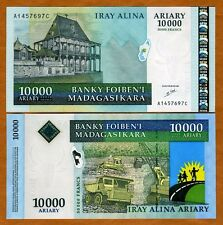 MADAGASCAR, 10000 (10,000) Ariary = 50000 Francs ND (2003), P-85, UNC