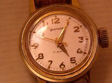 Vintage Vantage Standard Time ST22B Lady's Full Watch for Parts or Restoration