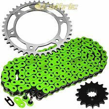 Green O-Ring Drive Chain & Sprockets Kit Fits HONDA CBR600RR CBR600 RR 2007-14