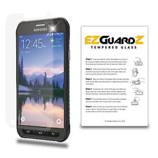 2X For Samsung Galaxy S6 Active EZguardz Premium Tempered Glass Screen Protector