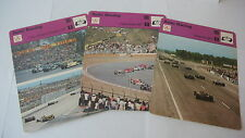 SPORTSCASTER RENCONTRE COLLECTABLE CARD  AUTO RACING FRENCH JAPAN USA GRAND PRIX