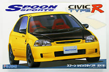 Fujimi IDSP 036274 Spoon Sports Civic Type R (EK9) 1/24 scale kit