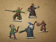 Games Workshop LOTR Gandalf Boromir Gimli Aragorn Legolas metal OOP