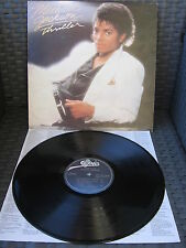 MICHAEL JACKSON Thriller LP / Vinyl + Lyrics Sheet GREEK pressing 1982 1st PRESS