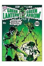 GREEN LANTERN #76 COVER PRINT 1st GREEN ARROW TEAM UP Neal Adams art