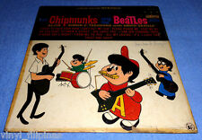 PHILIPPINES:THE CHIPMUNKS Sings The Beatles LP,ALBUM,RARE