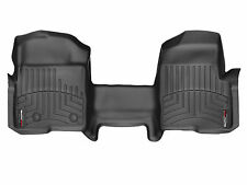 WeatherTech® FloorLiner for Ford F-150 - 2009-2014 - 1st Row - OTH - Black