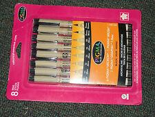 Sakura Pigma Micron Pens 8 black