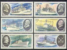 Russia 1979 Scientific Research Ships/Boats/Nautical/Transport 6v set (b4669)