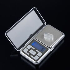 500g/0.1g Portable Digital LCD Electronic Jewelry Pocket Gram Weight Scale  OE