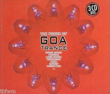 The Power Of Goa Trance - 3CD BOX - GOA TRANCE - TBFWM