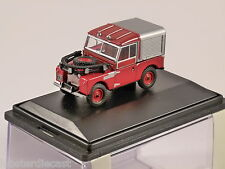 "LAND ROVER 88"" S1 FIRE - 1/76 scale model OXFORD DIECAST"