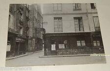 PHOTO ancienne SARTONY sur PARIS : CAFE VINS LIQUEURS Rue des Orfèvres 75001