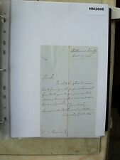 M2808 Document. Longueville, Williams, Solicitors, Oswestry. Netherseal Interest