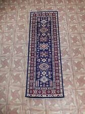 2' x 6' Super Kazak Staircase NEW Carpet Hand Knotted Runner
