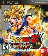 DRAGON BALL Z: ULTIMATE TENKAICHI  --  Playstation 3 PS3 Game ***Guaranteed***