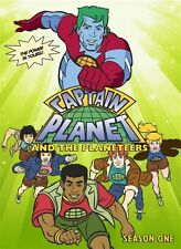 CAPTAIN PLANET AND THE PLANETEERS SEASON 1 New Sealed 4 DVD Set