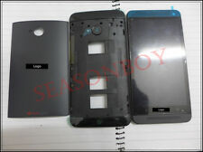 Full SET LCD Touch Screen Digitizer Assembly Frame For HTC One Dual M7 802w 802d