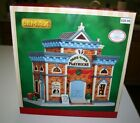 NEW NIB LEMAX OLDE TOWN PLAYHOUSE Lighted Porcelain Building # 45770