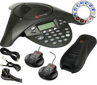 Polycom Soundstation 2 Expandable Conference Phone Telephone -Inc VAT & Warranty